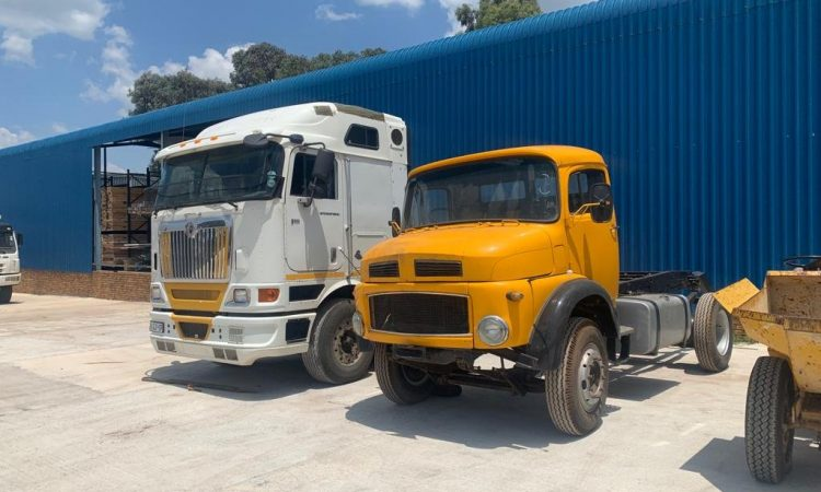 Trucks on auction