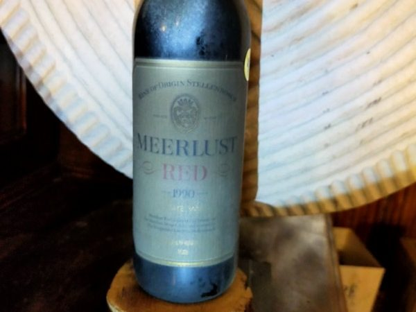 Meerlust Dry Red 1990 Lot 85,86,87,88,89